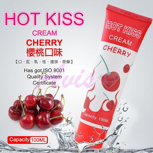 HOT KISS 櫻桃口味 激情潤滑液 100ml