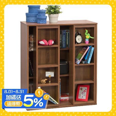 赫斯提亞雙排活動矮書櫃(雙色可選)