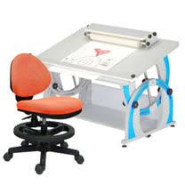HAPPYHOME DIY兒童成長書桌椅組12色可選DF-100