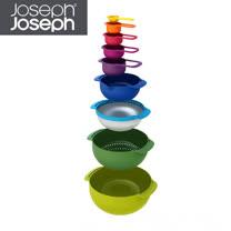 Joseph Joseph英國創意餐廚★量杯打蛋盆9件組★40031