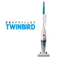 日本TWINBIRD手持直立兩用吸塵器TC-5121TWB(地中海藍)