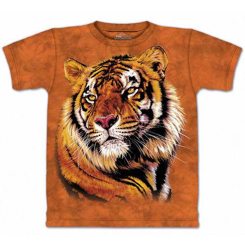 ~摩達客~   美國 ~The Mountain~自然純棉系列 力與優雅之虎 T恤