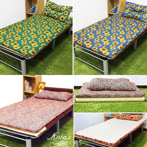KOTAS 冬夏透氣床墊 單人 三尺 二入 送 記憶枕兩顆 多款花色