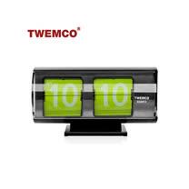 【TWEMCO】復古收藏 圓筒造型翻頁鐘\桌鐘 日本限定版 QT-30T