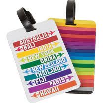 《TRAVELON》彩虹城市行李掛牌(2入)