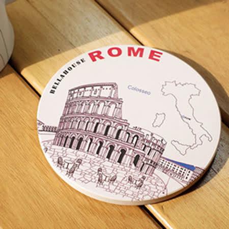 神奇吸水杯墊 ~ 羅馬競技場