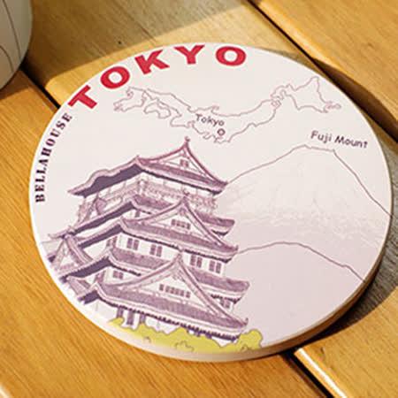 神奇吸水杯墊 ~ 日本