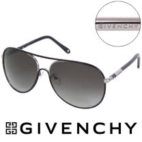 GIVENCHY 法國魅力紀梵希都會玩酷飛行員復古太陽眼鏡(黑) GISGV4270S57