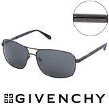 GIVENCHY 法國魅力紀梵希都會玩酷飛行員復古太陽眼鏡(鐵灰) GISGV4110568