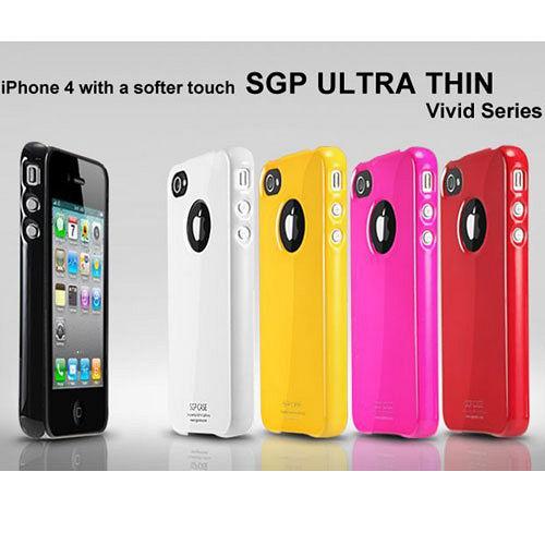 SGP Ultra Thin ViVid iPhone 4 保護殼- Fantasia P