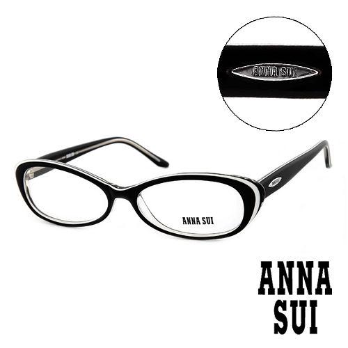 Anna Sui 安娜蘇  款 平光眼鏡 黑  AS09001