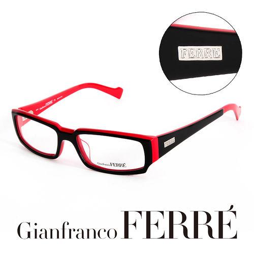 Glanfranco Ferre 義大利首席 師完美幾何  鏡框 GF36301