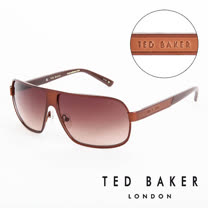 TED BAKER 倫敦 個性質感造型太陽眼鏡(咖啡) TB1241175