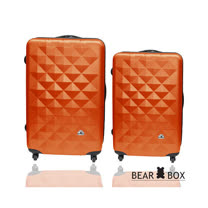 BEAR BOX 晶鑽系列28+20吋ABS霧面行李箱二件組