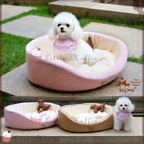 【Little Muffin小馬芬】日本KOJIMA 超可愛高質感碗型造型寵物床pet iris可參考 L 68x55x19cm