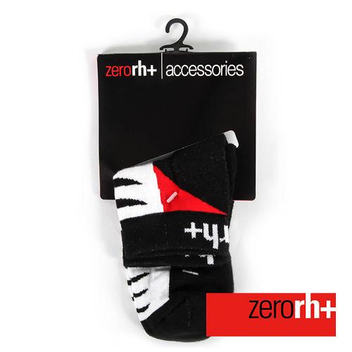 ZERORH 短筒保暖 排汗襪~黑 紅 ICX9515