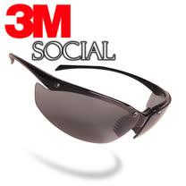 3M SOCIAL 魅惑黑超質感運動眼鏡