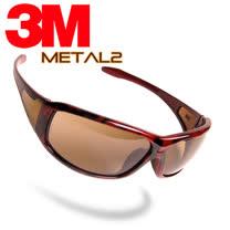 3M Metal2 紅玳瑁防霧運動眼鏡