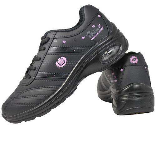 USA APPLE美國蘋果款6561B黑粉紅正品女士 鞋滑板鞋旅遊鞋氣墊鞋休閒鞋登山鞋