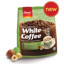 super「超級」3 合 1 炭燒白咖啡 香烤榛果味 525g
