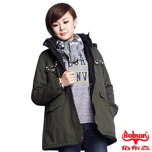 BOBSON 女款珠飾軍風外套 33116~41
