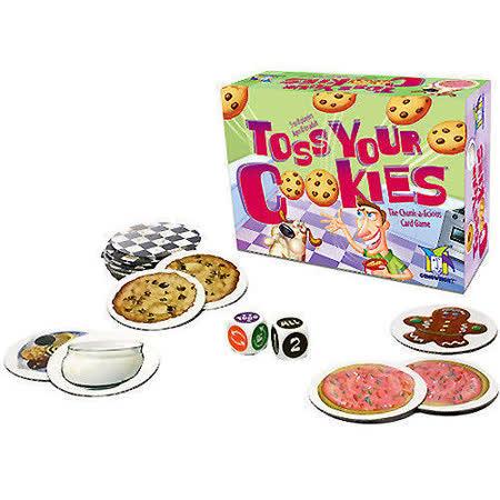 (任選) 諾貝兒益智玩具 歐美桌遊 Toss Your Cookies (附中文說明)