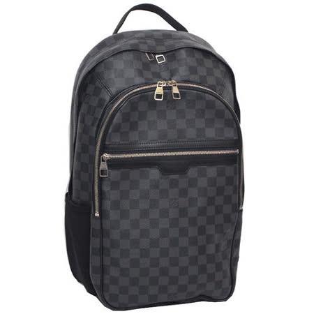 Louis Vuitton LV N58024 MICHAEL Damier 黑棋盤格紋後背包/電腦包-預購