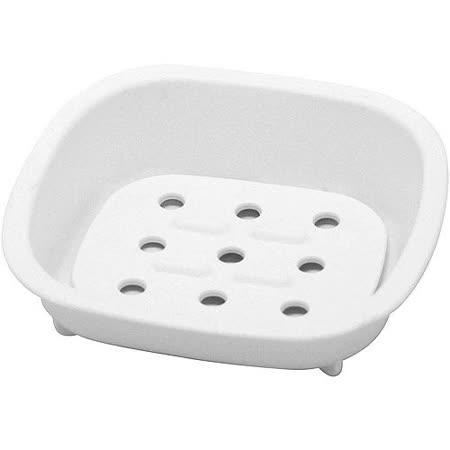 《Sceltevie》濾水肥皂盒(白)