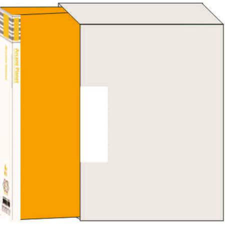 【檔案家】宇宙80入資料簿附盒   - 黃色