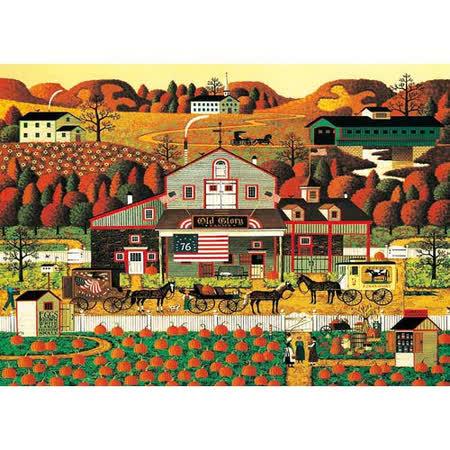 【名畫系列】秋-南瓜農莊 Fall- Pumpkin Farm 520片拼圖