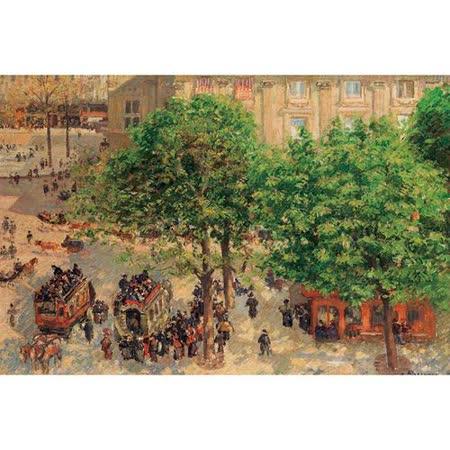 【名畫系列】劇場 Place du Theatre-Francais. Spring 1000片拼圖
