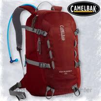 【美國 CAMELBAK】最新款 Rim Runner 22L 超輕耐磨水袋背包(附3L水袋)_可當攻頂包.適自行車.越野跑步.登山健行/威尼斯紅 CB62235