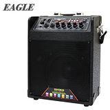EAGLE 行動藍芽肩帶式擴音音箱(ELS-2098B) 送原廠動圈麥克風二支(EDM-F1)