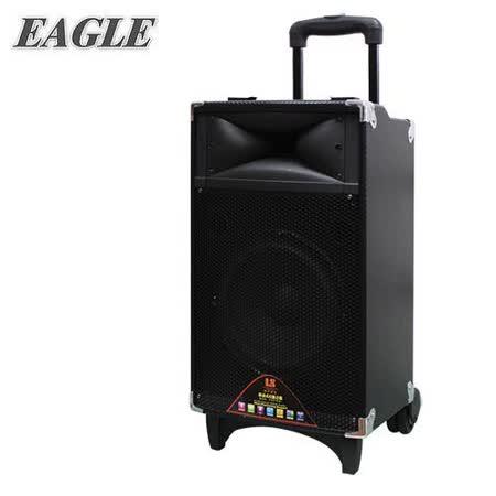EAGLE 行动蓝芽拉杆式扩音音箱(ELS-3008) 送原厂动圈麦克风二支(EDM-F1)