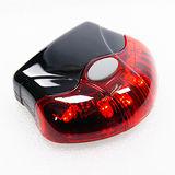 【D-LIGHT】自行車紅LED飛碟後燈 2128-16 (紅)