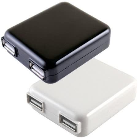 通海 2USB 旅充頭/USB電源充電器 ( H25B-BB )◆適用各廠牌智慧手機的充電◆
