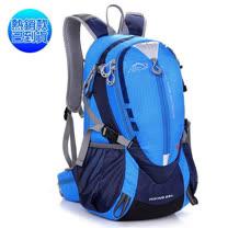 LOCAL LION 25L 透氣輕量化拔熱登山健行背包/含胸扣哨子(僅780g)自行車.攻頂背包.適旅行旅遊 書包/藍