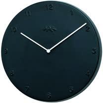 《KAHLER》Ora簡約時鐘(黑L)