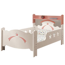 HAPPYHOME 貝妮斯3.5尺加大單人床122-1(只含床頭-床架-不含床墊)