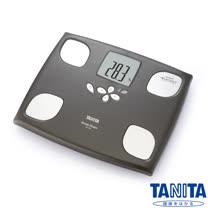 日本TANITA 十合一女性減重模式體組成計 BC750-木棕色