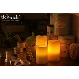【TickTock】永不熄滅~LED蠟燭造型燈-2入