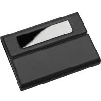 《REFLECTS》業務橫式名片盒(黑)