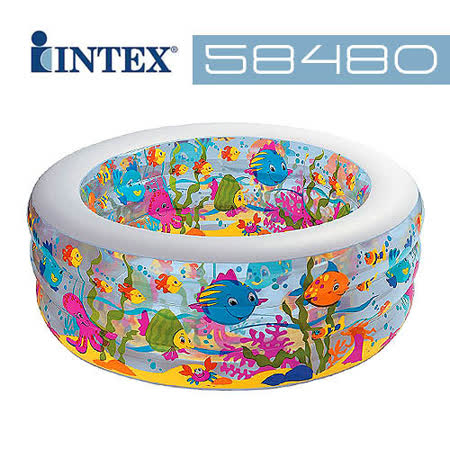 【INTEX】海洋氣墊泳池 (58480)