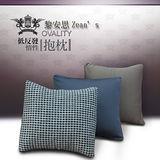 [黎安思-Zean`s] OVALITY低反發惰性抱枕2入-咖啡褐