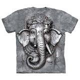 『摩達客』(預購)美國進口【The Mountain】自然純棉系列 象頭神臉 T恤