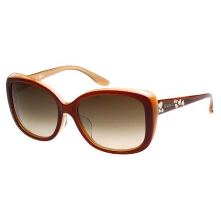 MAX&CO. 時尚太陽眼鏡(咖啡紅)