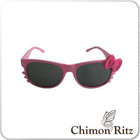 【Chimon Ritz】帅气猫儿童太阳眼镜-粉红