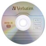Verbatim 威寶 AZO 銀雀版 16X DVD+R 4.7GB 燒錄片 100片
