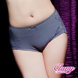 【可蘭霓台灣製】舒適棉質蕾絲M-XL內褲 優雅灰 5313-62