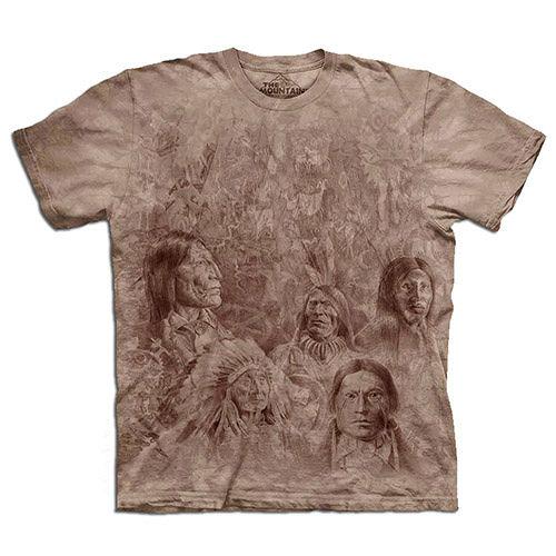 ~摩達客~   美國 ~The Mountain~自然純棉系列 先人之牆 T恤